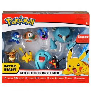 Bandai Coffret 8 figurines Pokémon