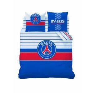 Paris Saint Germain - Housse de couette et taie 100% coton (200 x 200 cm)
