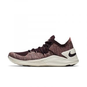Nike Chaussure de cross-training, HIIT et fitness Free TR Flyknit 3 pour Femme - Rouge - Taille 40.5