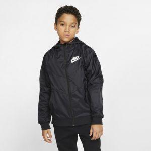 Nike Veste Sportswear Windrunner Garçon plus âgé - Noir - Taille S - Male