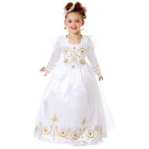 César Déguisement Reine blanche cintre (3-5 ans)