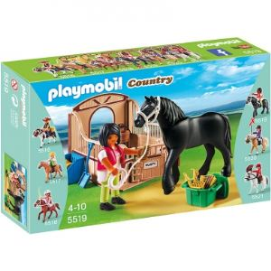 Playmobil 5519 Country - Cheval Frison et écuyère