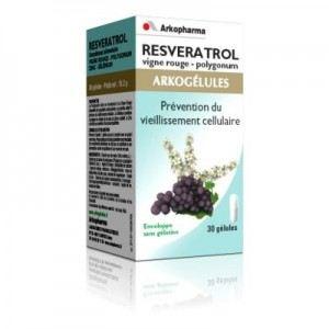 Arkopharma Arkogélules Resveratrol - Prévention du vieillissement cellulaire
