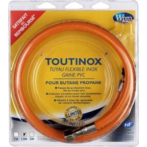 Wpro TBE 150 - Flexible inox pour le gaz butane/propane