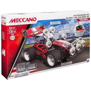 Meccano 6026720 - Evolution Buggy de course radiocommandé (130 pièces)