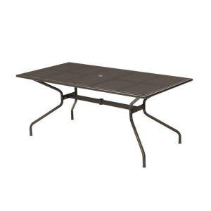 Emu Table de jardin Athena Marron d'Inde 180 x 90 x 75 cm
