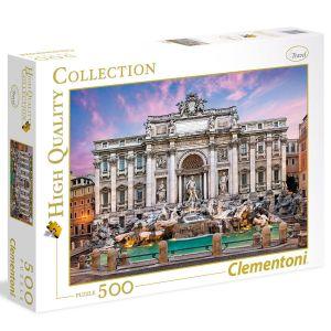 Clementoni Fontaine de Trevi - Puzzle 500 pièces