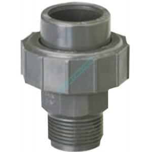 GIRPI Union 3 pièces avec joint EPDM K62 PVC-U F/filetage diamètre 63-2 réf. B3F/P63