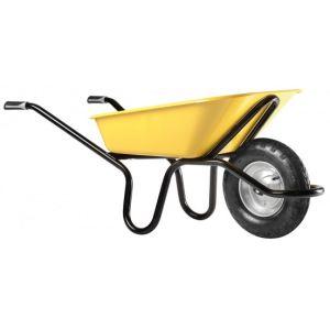 Haemmerlin 305264106 - Brouette Aktiv Excellium Plus peinte roue gonflée 100 L