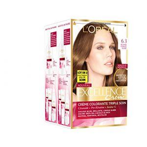 L'Oréal Excellence Crème 6.30 Blond Foncé Doré