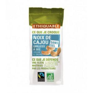 Image de Ethiquable Noix de Cajou grillées à sec sans sel BIO 100g