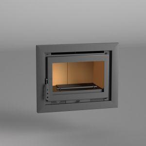 Fm I-170 - Insert de cheminée 12,5 kw avec porte en fonte