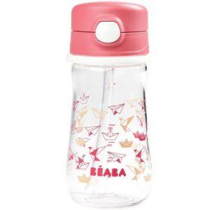 Beaba Tasse Paille Rose 350 ml