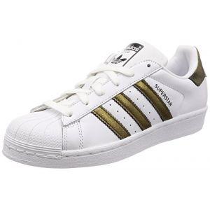 Adidas Superstar W, Blanc (FTWR White/Core Black/Core Black B41513), 41 1/3 EU