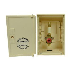 Gurtner Coffret de coupure coup de poing et signalisation Cuivre 18 mm