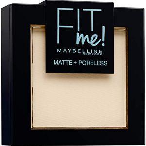 Maybelline Fit Me! Poudre ton sur ton Matifiante - 110 Porcelaine