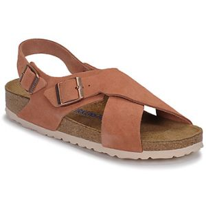 Birkenstock Sandales TULUM SFB LEATHER - Couleur 36,37,38,39,40,41,35 - Taille Rouge