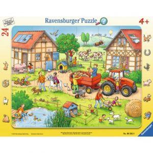 Ravensburger La Ferme - Puzzle cadre 24 pièces