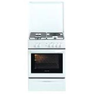 Brandt KMC1001W - Cuisinière mixte 3 brûleurs et four électrique