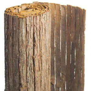 Brise vue en écorces de pin naturel 2 rouleaux de 1,50 x 5 m