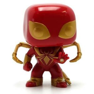 Funko POP! - MARVEL 107 - Marvel SpiderMan - Iron Spider - Bobble Head [Figurine]