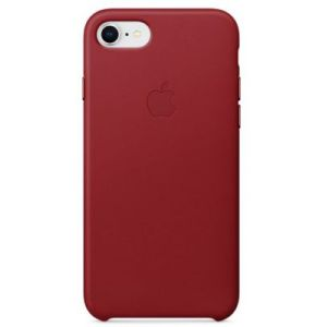 Apple Coque en cuir RED iPhone 8 / 7