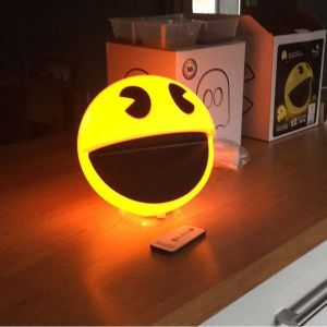 Abysse Corp Lampe Sonore Pac-Man