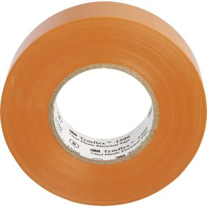 3M 3M TOR A1925Temflex 1500vinyle électrique Ruban isolant, 19mm x 25m, 0,15mm, orange