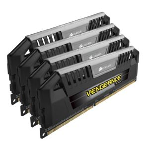 Image de Corsair CMY32GX3M4A1600C9 - Barrettes mémoire Vengeance Pro 4 x 8 Go DDR3 1600 MHz CL9 240 broches