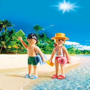 Playmobil 5165 - Duo pack Couple de vacanciers à la plage