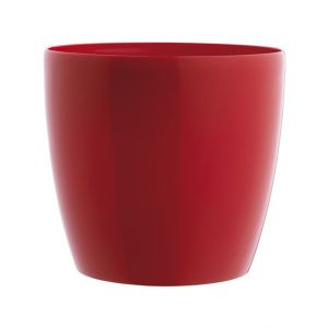 Cache pot 16cm Brussel Diamant Elho rouge