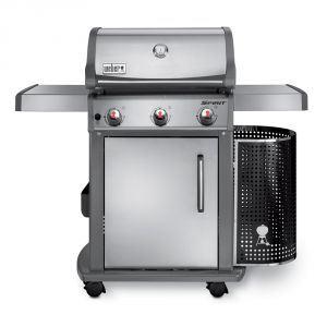 Weber Spirit Premium S320 - Barbecue à gaz 3 feux 9.36 KW + réchaud
