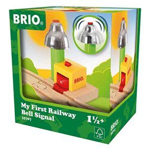 Brio 33707 - Mon premier signal cloche magnétique pour circuit train