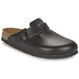 Birkenstock Boston, Sabots mixte adulte, Noir, 35 EU