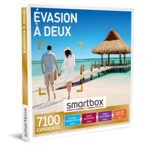 Smartbox Évasion À Deux Coffret Cadeau Multi-Thèmes
