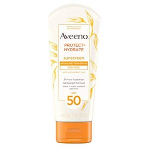 Aveeno Protect + Hydrate Lotion Sunscreen - 85 g - SPF 50