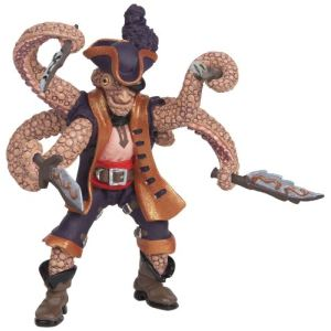 Papo Figurine Pirate Mutant Pieuvre