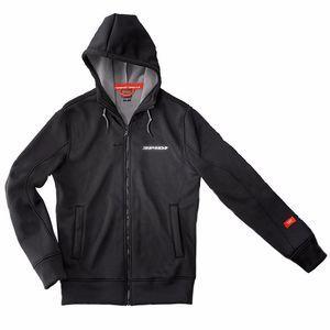 Spidi Sweat zip TECH HOODIE EVO noir - XL