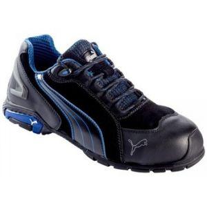 Puma Safety Chaussure de sécurité METRO PROTECT 64.275.0 RIO BLACK LOW S3 SRC NOIRE/BLEUE - Taille - 46 - Neuf