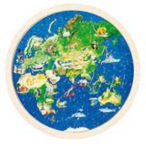 Goki 57666 - Puzzle globe terrestre 57 pièces