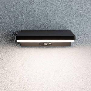 Paulmann 94332 Applique murale d'extérieur LED IP44 Blanc chaud 1 x 10,3 W Éclairage extérieur Gris foncé Lampe de jardin en aluminium 3000 K