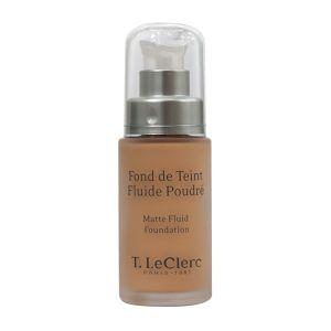 T.LeClerc Paris Beige Abricoté - Fond de teint fluide poudré SPF15