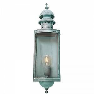 Elstead Applique Murale Downing Street 1x100W - Vert-de-Gris - LIGHTING - downingstreetv