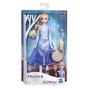 Hasbro Poupée Mannequin Elsa Robe Lumineuse La Reine Des Neiges 2