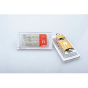 Habill-auto Kit éclairage de plaque LED blanc BMW E46 2D coupe (98-03), E46 M3 (99-03)