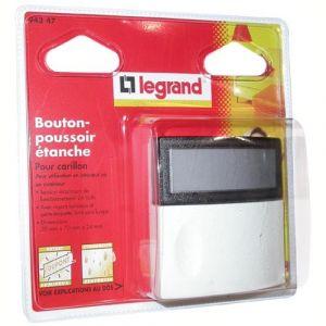 Legrand POUSSOIR SONNERIE 24V/12V S/C 94247