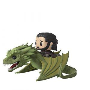 Funko Figurine Pop! Ride - Jon Snow sur Rhaegal - Game of Thrones