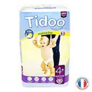 Tidoo Couches Jumbo Maxi+ taille 4+ (9-20 kg)