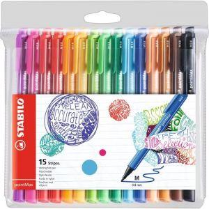 Stabilo pointMax 15 stylos feutres 0.8 mm