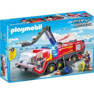 Playmobil 5337 - City Action : Pompiers avec véhicule aéroportuaire